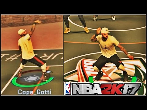 BEST SHARPSHOOTER POINT GUARD ON 2K!! | HALL OF FAME BADGES MATTER | NBA 2K17 MyPark