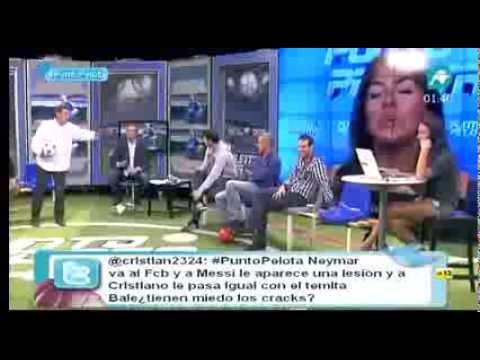 Quim Domènech  destroza a madridistas y Josep pedrerol aplaude12 09 2013