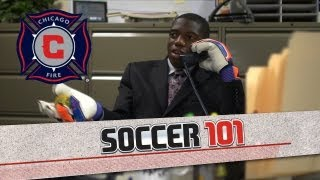 FIFA Soccer 13: Soccer 101 - Chicago Fire demonstrate the handball rule