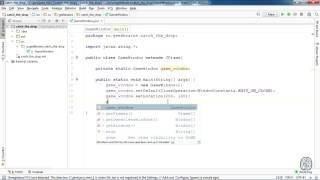 Java. Урок 6. Разработка игры «Поймай каплю». Часть 1