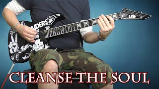 Slayer - Cleanse The Soul - Guitar Cover With Solo