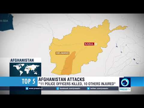 11 Afghan Police Officers Killed, 10 Injured In Taliban Attack In Afghanistan