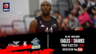 2019 20 BBL Cup North Group Newcastle Eagles v B Braun Sheffield Sharks 18 Oct 2019