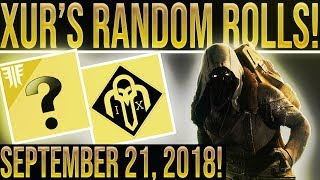 Video Destiny 2 Forsaken. Xur Location & Exotic Random Rolls. September 21, 2018. Where is Xur? download MP3, 3GP, MP4, WEBM, AVI, FLV September 2018