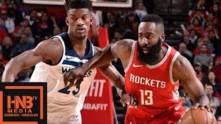connectYoutube - Houston Rockets vs Minnesota Timberwolves Full Game Highlights / Jan 18 / 2017-18 NBA Season