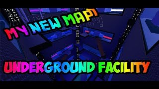 (MY NEW MAP OMG!) Underground Facility by awsomemagicmaster | Roblox FE2 Map Test