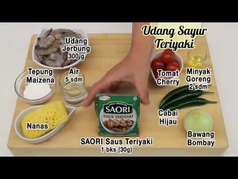 Dapur Umami Udang Sayur Teriyaki Youtube