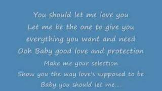 Mario - Let me love you [Lyrics]