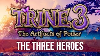 Trine 3: The Artifacts of Power - Chapter 1: The Three Heroes! (1440p Gameplay)