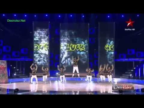 Good Luck Boyz performing at India's Dancing Superstar