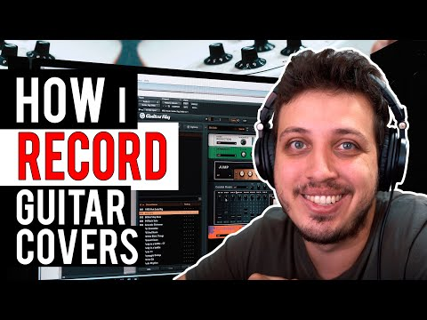 HOW I RECORD MY GUITAR COVERS!