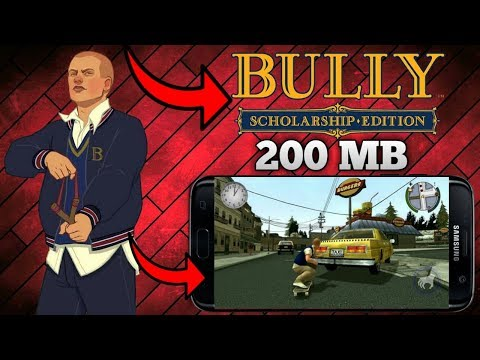 Bully Scholarship Edition { 200 Mb } Android Highly Compressed | Cheats And Mod Apk+obb |