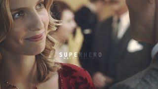 I met a superhero, I lost her