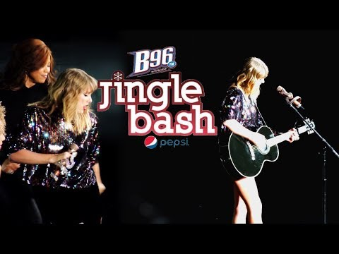 Seeing Taylor Swift at the B96 Jingle Bash in Chicago - Concert Vlog!