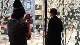 メンズノンノモデル成田凌が、ポール・スミス金沢店の取材で北陸初遠征...