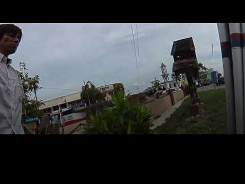 【3D VR動画】イギリス軍塹壕跡の周囲Around the British Pillbox at Kota Bharu(マレーシア・コタバル市)