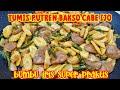 - TUMIS PUTREN BAKSO CABE IJO  SUPER PRAKTIS DENGAN BUMBU IRIS