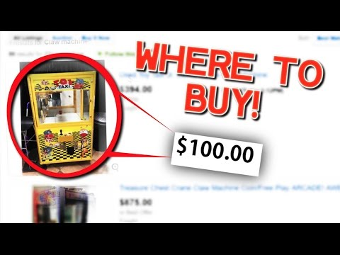 Where To Buy A CLAW MACHINE For CHEAP! (ONLY $100.00)
