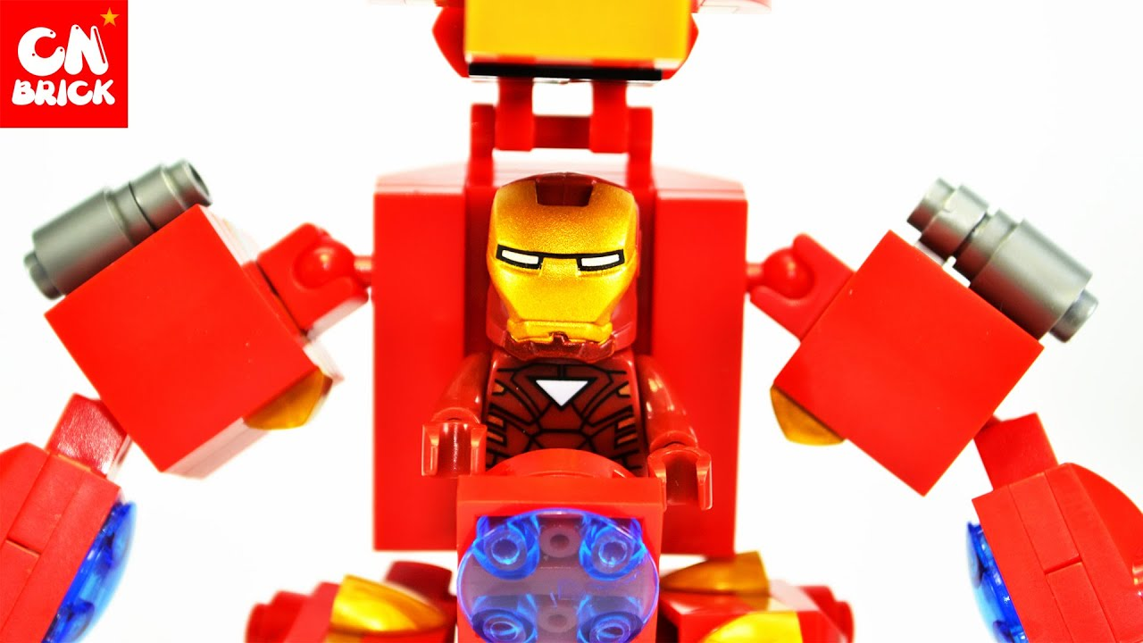 LEGO SY516A IRON MAN ROBOT - YouTube