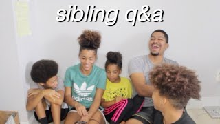 Q&A WITH ALL MY SIBLINGS | Azlia Williams