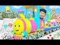Christmas Numbers Train   Cartoons for Children   Xmas Songs for Kids by Little Treehouse