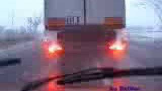 hgv tir driving in poland lorry crazy driver