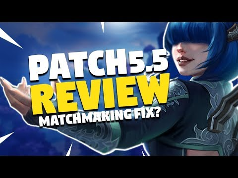 SMITE Patch 5.5 | MATCHMAKING FIXES! Time To Party | Patch Notes