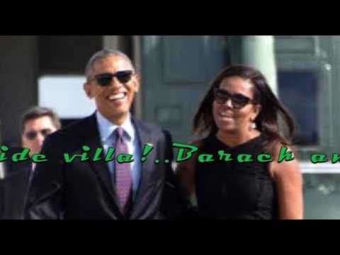 Barack and Michelle Obama Enjoy a Post Presidency Vacation in the British Virgin Islands
