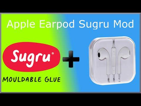 Apple Earpod Sugru Mod