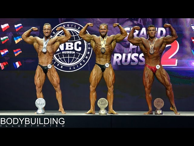 2019 GRAND PRIX Russia II, NBC — Bodybuilding up to 90 kg.
