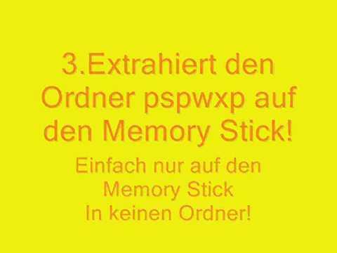 How To Install Windows XP/Vista Onto Your PSP [German/Deutsch]