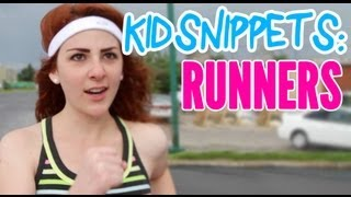 "Kid Snippets: ""Runners"" (Imagined by Kids)"