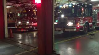 Chicago Fire Truck 3 And Engine 42 Responding