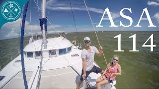 ASA 114 - Cruising Catamarans - Learning to Sail