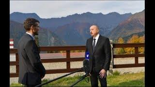 Интервью президента Азербайджана телеканалам «Россия» и «Первый»