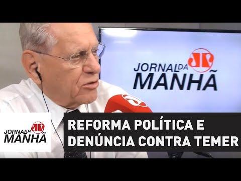 Semana em Brasília tem agenda cheia de Dodge, reforma política e denúncia contra Temer