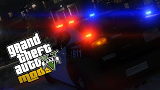 ELS Style Police Lights - GTA 5 PC Mod
