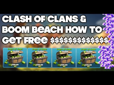 How To Get FREE Gems in Clash Of Clans Legit!