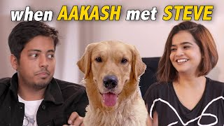 @Aakash Gupta and fear of dogs | Mind reading | Suhani Shah