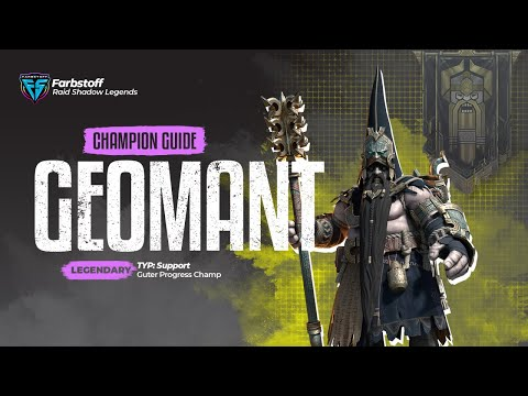 Raid: Shadow Legends - Champion Guide Geomant - gut für progress