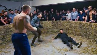 Machine-GUNNER vs SAILOR | KNOCKOUT, Bare Knuckle Fight