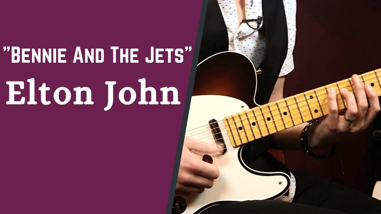 """How to Play """"Bennie And The Jets"""" by Elton John - The 1970s Guitar Song Collection w/ Jon Maclennan"""