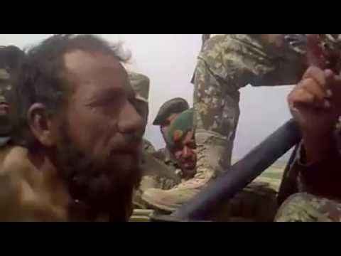 Afghan National Army Arrested A Taliban 2016
