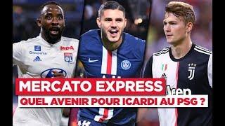 VIDEO: TRANSFERTS - Icardi, De Ligt, Dembélé... Les infos Mercato du 9 janvier
