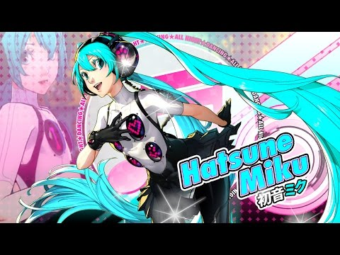 Here's a taste of Hatsune Miku in Persona 4: Dancing All Night