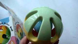Видео обзор детская игрушка - Погремушка шар (kidtoy.in.ua)(Заказать: https://vk.com/photo-47667519_310948857 Погремушка шар, в коробке Длина: 9.0 см. Ширина: 9.0 см. Высота: 9.0 см. Интернет-ма..., 2014-12-24T11:22:35.000Z)