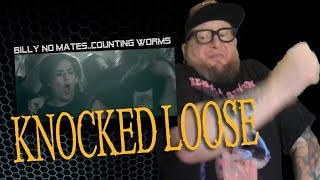 Baixar KNOCKED LOOSE - Billy No Mates \\ Counting Worms  (First Reaction)