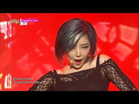 【TVPP】Gain(BEG) - Paradise Lost, 가인(브아걸) - 파라다이스 로스트 @ Comeback Stage, Show Music Core Live