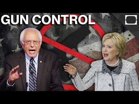 Where Do Clinton And Sanders Stand On Gun Control?