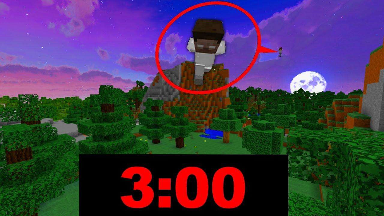 SPIELE MINECRAFT NICHT UM UHR MORGENS HEROBRINE YouTube - Minecraft herobrine spiele